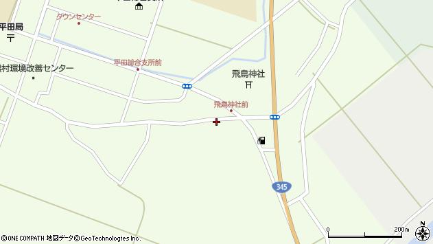 山形県酒田市飛鳥132周辺の地図
