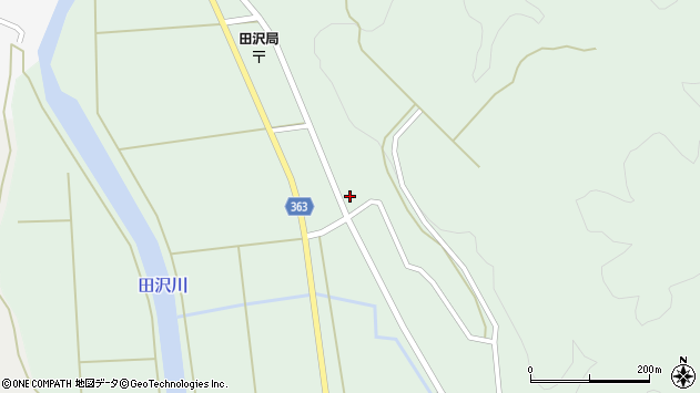 山形県酒田市田沢寺ノ下32周辺の地図