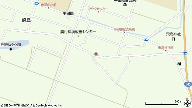 山形県酒田市飛鳥98周辺の地図