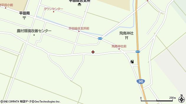 山形県酒田市飛鳥104周辺の地図