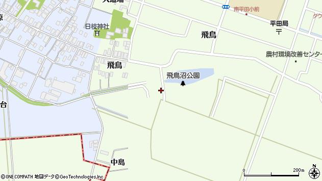 山形県酒田市飛鳥中島423周辺の地図