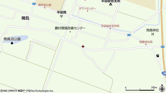 山形県酒田市飛鳥95周辺の地図