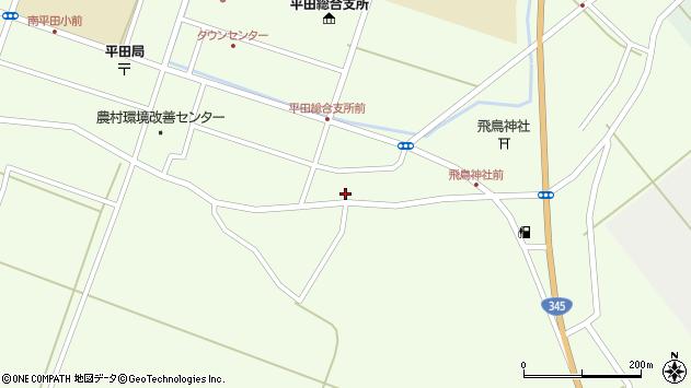 山形県酒田市飛鳥117周辺の地図