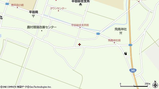 山形県酒田市飛鳥堂之後108周辺の地図