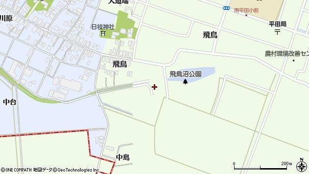 山形県酒田市飛鳥420周辺の地図
