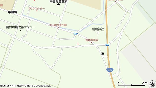 山形県酒田市飛鳥100周辺の地図