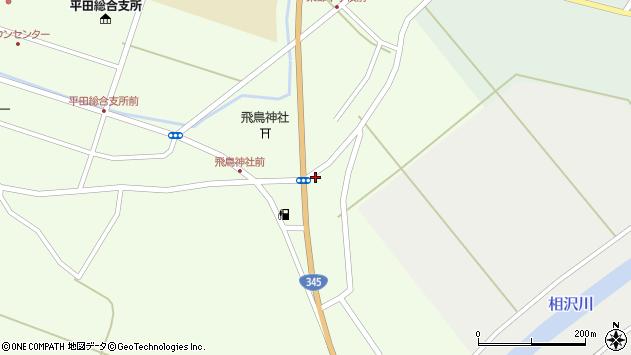 山形県酒田市飛鳥341周辺の地図