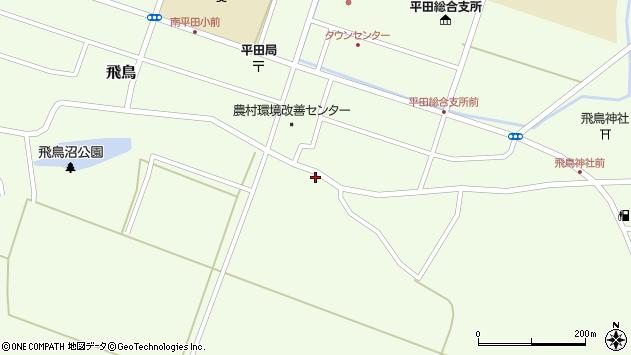 山形県酒田市飛鳥178周辺の地図
