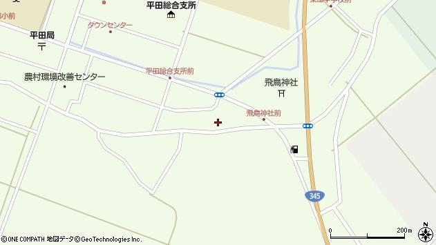 山形県酒田市飛鳥101周辺の地図