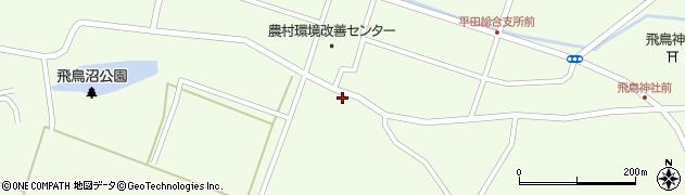 山形県酒田市飛鳥179周辺の地図