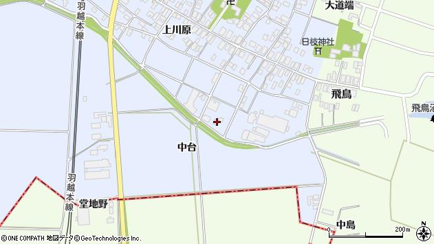 山形県酒田市砂越上川原670周辺の地図