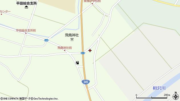 山形県酒田市飛鳥391周辺の地図