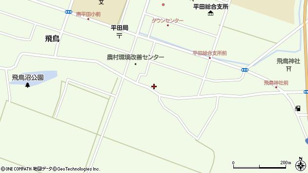 山形県酒田市飛鳥78周辺の地図