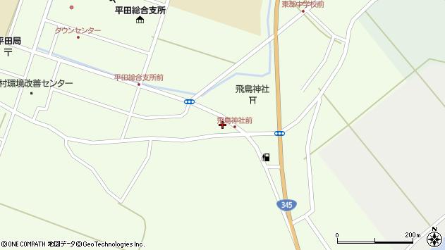 山形県酒田市飛鳥堂之後95周辺の地図