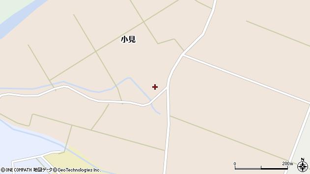 山形県酒田市小見樋掛周辺の地図