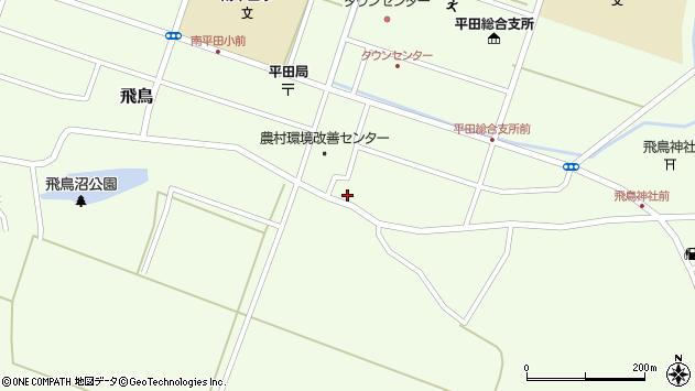 山形県酒田市飛鳥81周辺の地図