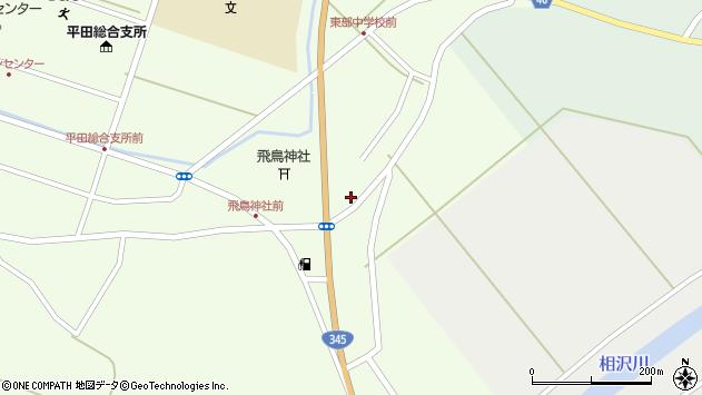 山形県酒田市飛鳥318周辺の地図