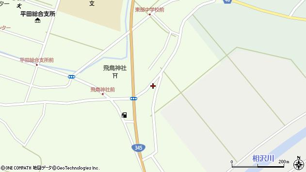 山形県酒田市飛鳥396周辺の地図