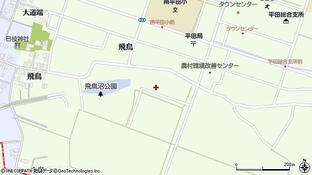 山形県酒田市飛鳥中島280周辺の地図