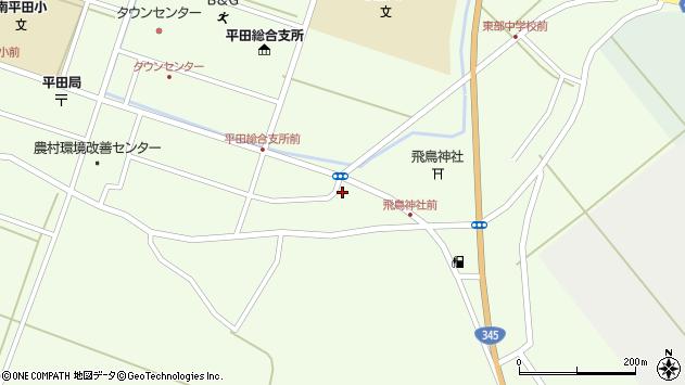 山形県酒田市飛鳥堂之後88周辺の地図