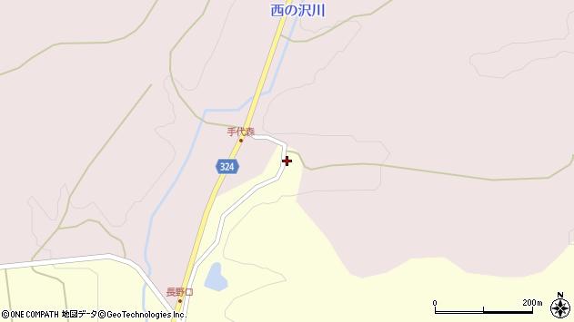 山形県最上郡金山町朴山677周辺の地図