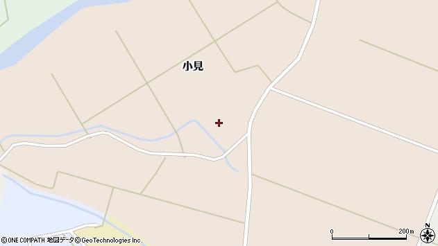 山形県酒田市小見樋掛70周辺の地図