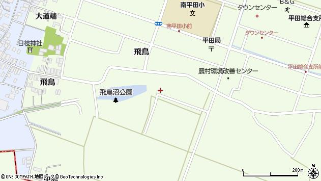 山形県酒田市飛鳥中島276周辺の地図