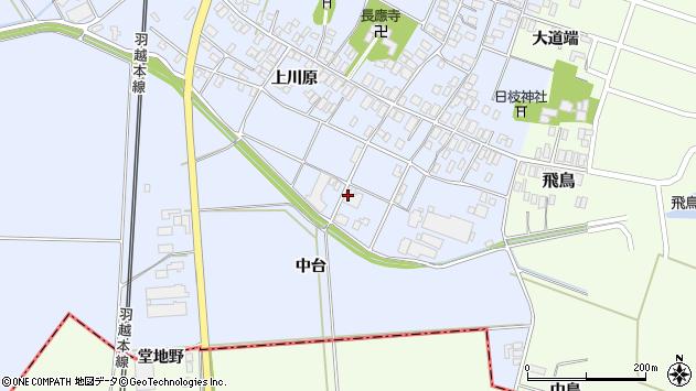 山形県酒田市砂越上川原666周辺の地図