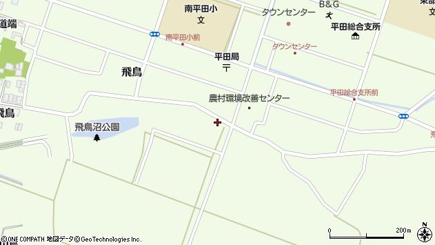 山形県酒田市飛鳥1周辺の地図