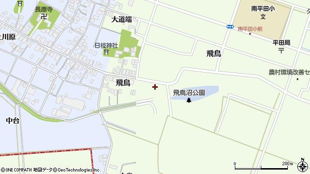 山形県酒田市飛鳥42周辺の地図