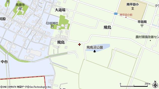 山形県酒田市飛鳥40周辺の地図