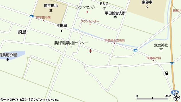 山形県酒田市飛鳥契約場65周辺の地図