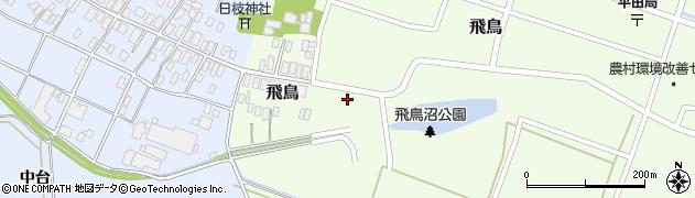 山形県酒田市飛鳥43周辺の地図