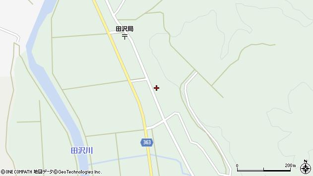 山形県酒田市田沢寺ノ下35周辺の地図