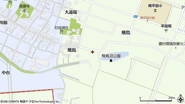 山形県酒田市飛鳥41周辺の地図