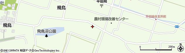 山形県酒田市飛鳥4周辺の地図