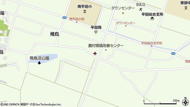 山形県酒田市飛鳥233周辺の地図