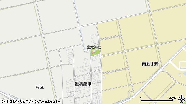 山形県酒田市遊摺部村立19周辺の地図