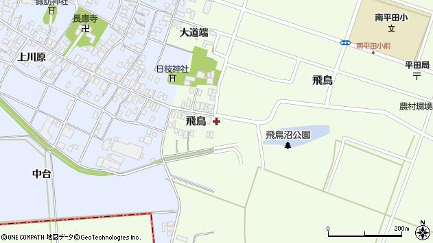 山形県酒田市飛鳥47周辺の地図