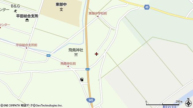 山形県酒田市飛鳥196周辺の地図