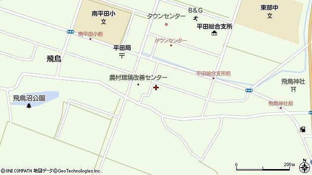 山形県酒田市飛鳥契約場周辺の地図