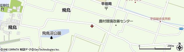 山形県酒田市飛鳥7周辺の地図