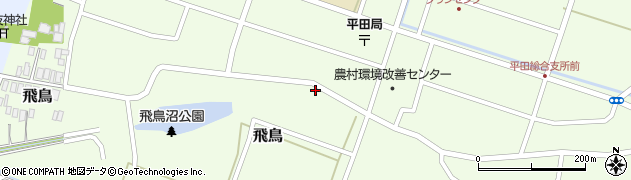 山形県酒田市飛鳥6周辺の地図