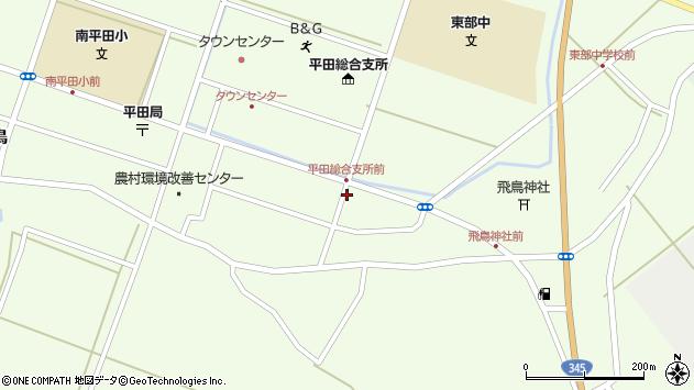 山形県酒田市飛鳥堂之後106周辺の地図