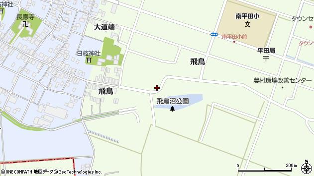 山形県酒田市飛鳥71周辺の地図
