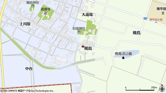 山形県酒田市飛鳥52周辺の地図