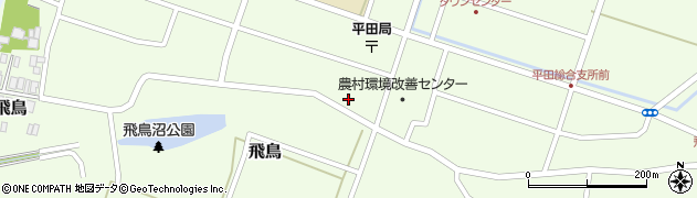 山形県酒田市飛鳥230周辺の地図