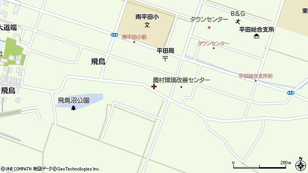 山形県酒田市飛鳥226周辺の地図