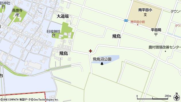山形県酒田市飛鳥70周辺の地図