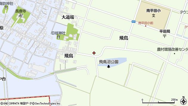 山形県酒田市飛鳥69周辺の地図